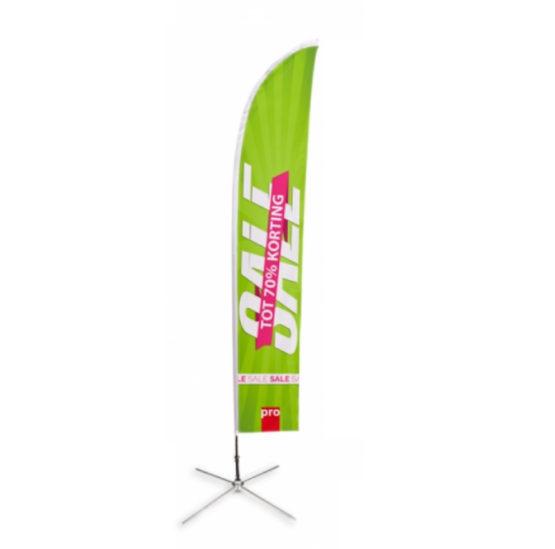 Large Beachflag Straight