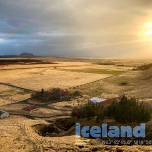 Iceland Dal bij Tindfjallajökull